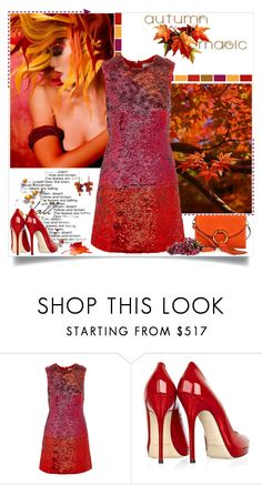 """Autumn Magic"" by annabu ❤ liked on Polyvore featuring Yves Saint Laurent, LARA, Jimmy Choo, Tory Burch, Fall, autumn, falloutfit, fallstyle and FallColors"