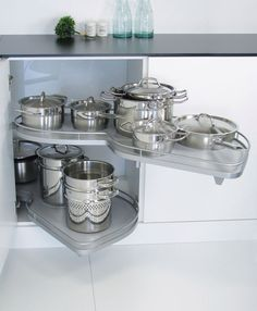 Delightful Kitchen Corner Storage