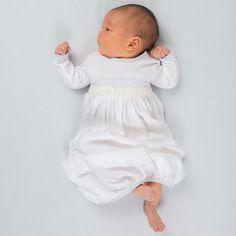 c12e696bfe79 Newborn Boys Cotton Gown Set 'Harrison'   Baby Boy Newborn Gowns   Baby Boy  Cotton Gowns   Bringing Home Baby Boy Gown Set   White Cotton