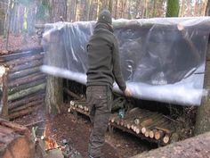 How To Make A Super Shelter - YouTube