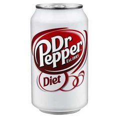 Dr Pepper Diet Soda Can Diet Dr Pepper, Dr Pepper Can, Bubble Yum, Jelly Belly Beans, Cinnamon Candy, Black Licorice, Diet Drinks, Beverages, Us Foods