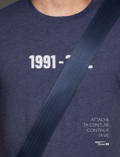 Buckle Up campaign poster