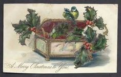 1920s Christmas Cards/birds - Bing images