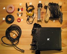 How-To: Make a Multiband EFHWA for Amateur Ham Radio Diana Eng shows how to make your own End-Fed Half-Wavelength Antenna (EFHWA) for portable radio operations. Portable Ham Radio, Mobile Ham Radio, Hf Radio, Dipole Antenna, Qrp, Ham Radio Antenna, Two Way Radio, Radio Frequency, How To Make