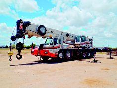Link-belt hydraulic truck crane