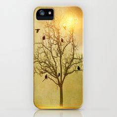 raven's shelter iPhone & iPod Case by Viviana González - $35.00