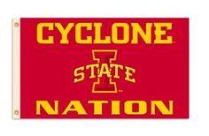 Iowa State Cyclone Nation Flag! #CyloneFBScavengerHunt