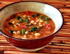 Cajun Gumbo with Farro, Black-Eyed Peas & Kale | Leafy Greens and Me