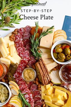 Create the perfect charcuterie board in six easy steps. Pair it with your favorite wine or serve the snack board at your next girls' night in. Fresh Herbs, Fresh Fruit, Cheese Pairings, Fig Jam, Piece Of Bread, Easy Entertaining, Meat And Cheese, Mixed Nuts, Charcuterie Board