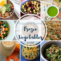 Frozen food, especially frozen fruits and vegetables, can be a very nutritious, convenient, and affordable way to keep a healthy diet.
