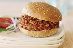 The secret to a great Sloppy Joe sandwich is slowly simmering the beef and sauce down into a rich, tender paste.