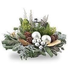 Afbeeldingsresultaat voor kerststukken Christmas Flower Decorations, Christmas Flower Arrangements, Floral Arrangements, Christmas Wreaths, Holiday Decor, Festive Crafts, Deco Floral, Christmas Is Coming, Xmas Tree