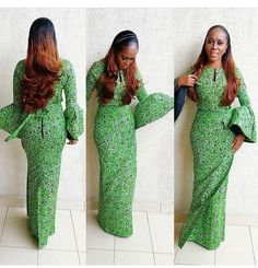 35 Fashionable Ways You Can Slay Your Ankara Style - Wedding Digest Naija African Dresses For Women, African Print Dresses, African Print Fashion, Africa Fashion, African Attire, African Fashion Dresses, African Wear, African Women, Ankara Fashion