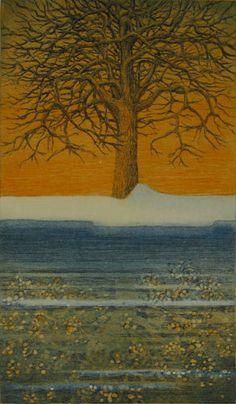 peili, 2008 - Leena Talvitie, printmaker, Finland Finland, Flower Art, Printmaking, Contemporary Art, Flowers, Prints, Painting, Design, Art Floral