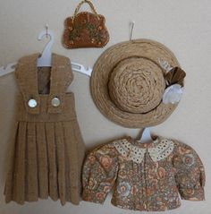 For Bleuette - Four Piece Ensemble Inspired by LSDS Fashions of 1907 and 1922