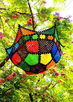Granny Mosaic SUNbrella by babukatorium, via Flickr
