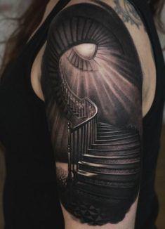 Infinite Stairs Tattoo