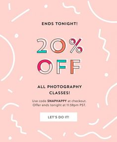 Colorful email marketing campaign design