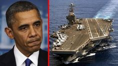 "BREAKING NEWS:  PENTAGON MAKES STUNNING MOVE AGAINST IRAN - TENSIONS ARE RISING IN THE MIDDLE EAST - Aircraft carrier USS Theodore Roosevelt has been dispatched to the waters of Yemen. The warship is nicknamed 'The Big Stick'. ""will join other American ships prepared to intercept any Iranian vessels carrying weapons to the Houthi rebels fighting in Yemen."" --  images Obama warship"