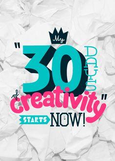 Day 1 creation for #30daysofcreativity @createstuff Let's go!