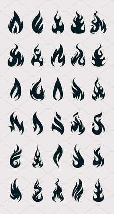 Quotes Discover Vector Fire Icons by Vecster on Creative Market Simbolos Tattoo Tattoo Motive Tattoo Drawings Tattoo Set Graffiti Lettering Graffiti Art Mini Tattoos Small Tattoos Photoshop Cool Art Drawings, Pencil Art Drawings, Art Drawings Sketches, Tattoo Drawings, Mini Tattoos, Small Tattoos, Fire Drawing, Flame Art, Symbolic Tattoos