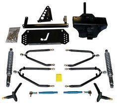 Friese Customs - Jake's Long Travel Lift Kit for Yam G22, $650.00 (http://www.friesecustoms.com/jakes-long-travel-lift-kit-for-yam-g22/)