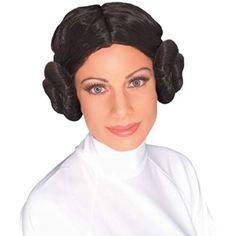 Rubie's officielle de Star Wars Princesse Leia Perruque, déguisement adulte–taille unique