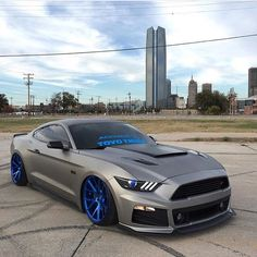 Sweet #mustang  Follow @moddednation  Follow @moddednation  _ Car owner @brian_vossen  #modifiedsociety