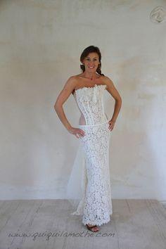 Robe de mariée bustier transparent originale glamour.  Robes de ...