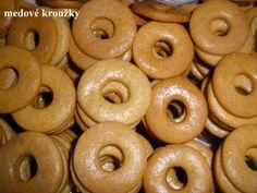 Medové kroužky ke kafíčku. Vynikající a snadné. Autor: marunda