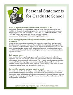 Personal goals essay for graduate school Read about writing a great graduate school essay or personal statement (graduate) in the Admissions section of Peterson's Graduate School Search. School Essay, College Essay, Law School, High School, College Goals, College Tips, Personal Statement Grad School, Personal Statements, Personal Goals