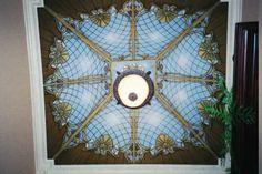 Trompe L'Oeil Stain Glass Ceilings by Art Effects