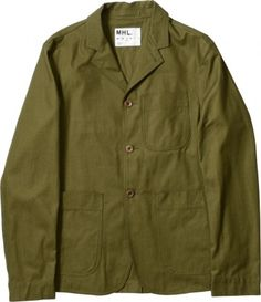 MARGARET HOWELL - MHL STAFF JACKET - JACKETS - MEN