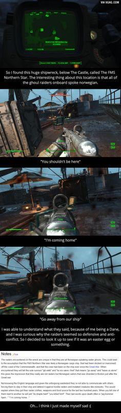 [Fallout 4] An interesting encounter turned sad.