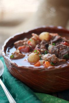 Slow-Cooker Beef and Bacon Stew
