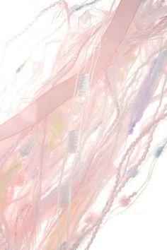 Large Baby Pink Pastel Fibers Yarn Ribbon Pack  by CardsAndCraft, $9.95