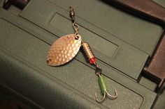 Homemade Fishing Lure Size 9 Silver/Silver Spinner https://www.etsy.com/listing/208666025/sz-9-silver-silver-lure-on-sale?ref=shop_home_feat_3