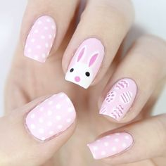 "2,842 Likes, 19 Comments - Hannah Weir (@_hannahweir_) on Instagram: ""Happy Easter loves!  Full tutorial for this design went up on my channel yesterday …"""
