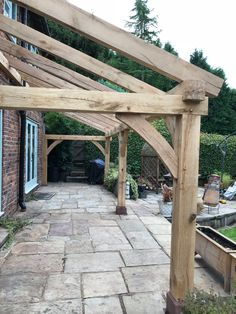 Gazebo Roof, Pergola With Roof, Outdoor Pergola, Backyard Patio, Porch Roof, Lean To Carport, Lean To Roof, Porch Canopy, Timber Garage