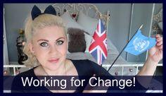I'm a Change Ambassador for Gender Equality! Sprinkle Of Glitter, Crazy Makeup, Equality, Youtubers, Gender, Change, Christmas Ornaments, Holiday Decor, Videos