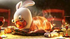 Wallpaper Thanksgiving | Turkey Raving Rabbit Wallpapers