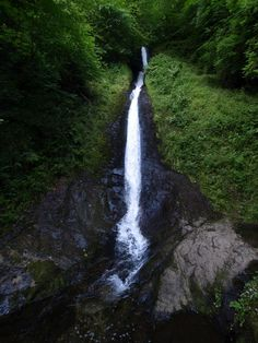 Whitelady Waterfall, Lydford Gorge, Lydford, Devon, England Devon England, Dartmoor, National Trust, British Isles, Cornwall, Waterfall, Dreams, Spaces, Explore