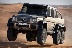 Mercedes G63 6x6 - Be the first in line at that Prada sale!