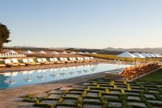 Kick back and relax at The Carneros Inn in California.