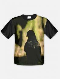 Koszulka wrona siwa / Gray crow t-shirt