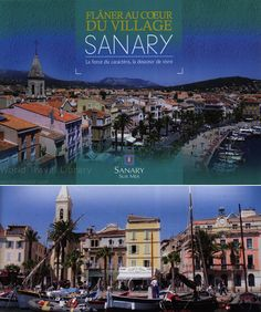 https://flic.kr/p/WZbqBN | Sanary-Sur-Mer - Flaner au Coeur du Village Sanary; 2015_1 map, Var co., Cote d'Azur reg., France