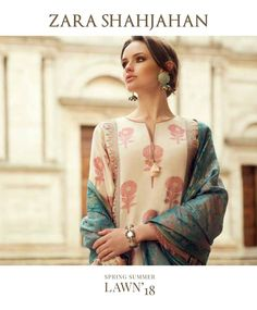 Zara Shahjahan Lawn Collection Spring Summer 2018