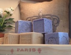 awesome block soap from France! #beekeeperscottage #luckettsva