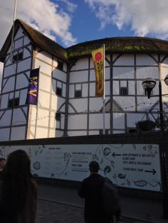 Kate's class - Shakespeare's Globe.  Journey from St Paul's Cathedral to Borough Market, crossing paths with an assortment of fantastic characters as you go. Soak in the atmosphere of the South Bank and its amazing history, as your companions divulge secrets from London's dramatic past, from the Great Plague to the Second World War. The South Bank tour is a wonderful way to immerse yourself in London's dark and fascinating history.