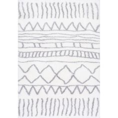 This floor covering is especially soft and low-maintenance. Made with 100-percent polyester, this abstract-patterned rug feels plush under your bare feet and is virtually non-shedding. This rugs Moroc